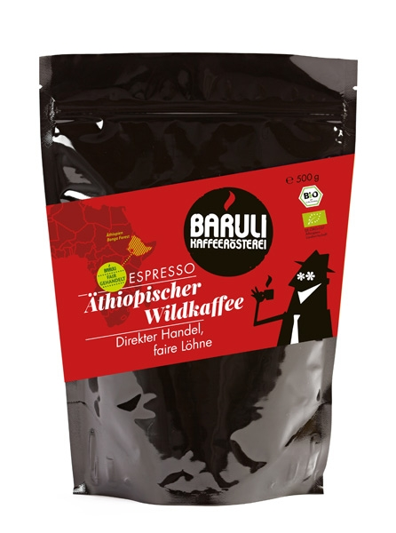 Bio Espresso Direct Trade Äthiopischer Wildkaffee