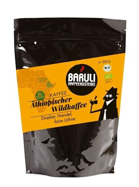 Bio Kaffee Direct Trade Äthiopischer Wildkaffee
